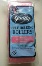 4 Goody Special Jumbo Self Holding Rollers Classic Hair Curler Old Style Hook