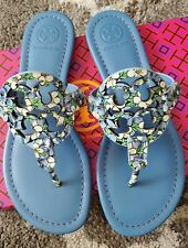 Tory Burch Miller printed patent Leather Sandals size 6