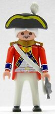 Royal Guard UFFICIALE SOLDATO PLAYMOBIL vs Continental Army Z rotrock CUSTOM 1852