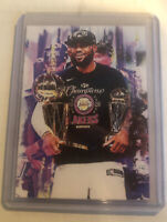 2020 Lebron James LA Lakers 17/25 Art ACEO Ltd Ed Signed Sketch Card By Q