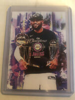 2020 Lebron James LA Lakers 4/25 Art ACEO Ltd Ed Signed Sketch Card By Q