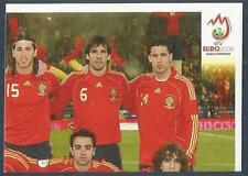 PANINI EURO 2008- #412-ESPANA-SPAIN TEAM-TOP RIGHT