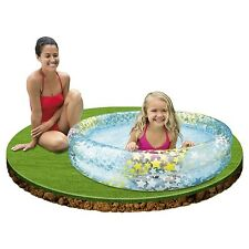 "Intex Inflatable Stars Kiddie 2 Ring Circles Swimming Pool (48"" X 10"") [Assor."