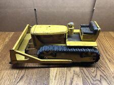 VTG 1950's Pressed Steel Doepke Model Toys D-6 Caterpillar Track Bulldozer Toy