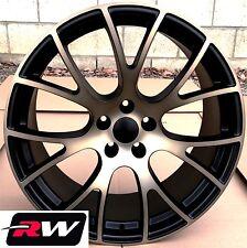 Dodge Challenger Replica Wheels 20 inch SRT Hellcat Black Satin Bronze Rims 20x9