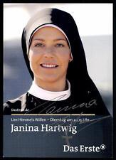 Janina Hartwig  Um Himmels Willen Autogrammkarte Original Signiert## BC 1747
