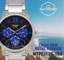 Casio Men's Standard Analog Watch MTPE312D-1B2 MTP-E312D-1B2