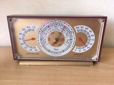 New listing Taylor Stormoguide Temperature Humidity Weather Storm Indicator Tracker Vntg '50