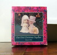 Precious Moments Our First Christmas Together Ornament 1992 Enesco Sam Butcher