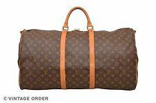 Louis Vuitton Monogram Keepall 60 Bandouliere Travel Bag M41412 - D00818