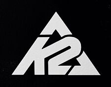 2- K2 SKI  Die Cut Vinyl Decal Sticker Skateboard Snowboard Surfboard JDM Deck