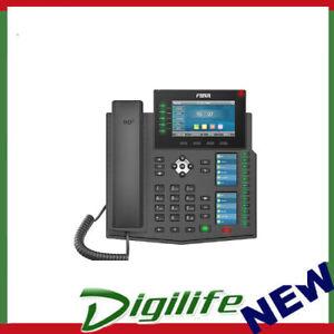 """Fanvil X6U Enterprise IP Phone - 4.3"""" (Video) Colour Screen, 20 Lines"""