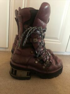 Ladies Size 7 New Rock Planet Platform High Boots