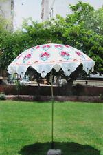 Handcrafted Garden Umbrella Sun Shade Umbrella Cotton Big Parasols Outdoor Decor