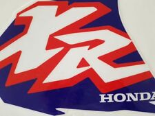Decals graphics honda XR400 XR400R XR 400, glos material, thickness