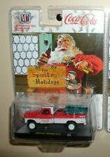 M2 Machines holiday coca cola  1969 ford f-100 ranger truck,sc02 new