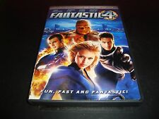 Fantastic Four DVD 2005 Full Screen Marvel Comics Near Mint Jessica Alba