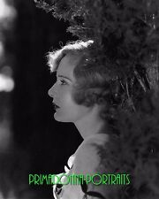 "MADGE EVANS 8X10 Lab Photo 1931 ""CLARENCE SINCLAIR BULL"" Glamour Portrait"