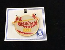 1993 St. Louis Cardinals Pin - Classic two cardinals on pin.  Free shipping!