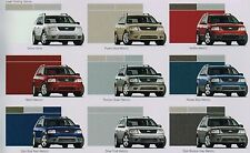 2005 Ford FREESTYLE Brochure / Catalog with Color Chart: SE,SEL,LIMITED, LTD