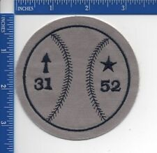 Authentic MLB- Cleveland Indians Tim Crews & Steve Olin Memorial patch NOS 1993