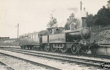 Original photograph postcard Military engine steam locomotive Earl Roberts (A3)