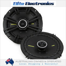 "KICKER 40CS654 CS SERIES 6.5"" 2-WAY 300W MAX FULL RANGE COAXIAL SPEAKERS 6-1/2"""