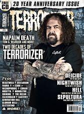 Terrorizer,20 ANNIVERSARY,NAPALM DEATH,DEICIDE,Glen Benton,NIGHTWISH,SEPULTURA