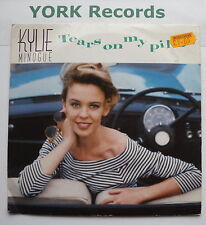 """KYLIE MINOGUE - Tears On My Pillow - Excellent Condition 7"""" Single PWL 47"""
