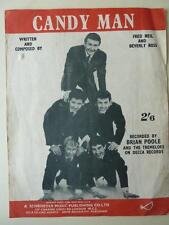 Candy Man recorded by Brian Poole and The Tremeloes Sheet Music