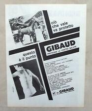 E373-Advertising Pubblicità-1965 - Dr.GIBAUD  CINTURA