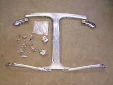 Corvette 1969-74 Coupe T Bar Chrome,W/S corners,F&R, all hardware