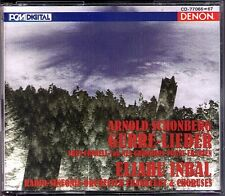 Eliahu INBAL: SCHOENBERG Gurre-Lieder Gurrelieder DENON Japan 2CD Paul Frey