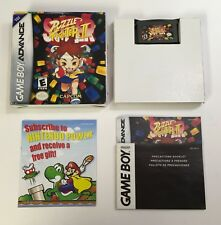 Super Puzzle Fighter II Gameboy Advance CIB Complete Capcom