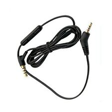 Audio Mic Cable For Bose-QC35 QuietComfort 3 QC3 Stereo Cord for iPhone
