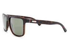GUCCI Square Men Sunglasses GG 1075/N/S Tortoise Brown Green Lenses QXG85