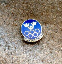 NOC Sweden 1992 Barcelona OLYMPIC Games Pin Enamel