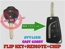2009- 2014 NEW TOYOTA HILUX VIGO REMOTE FLIP KEY ENTRY TRANSMITTER FOB TFYA2