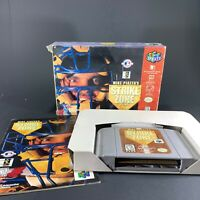 Mike Piazza's StrikeZone Strike Zone Nintendo 64 N64 Complete CIB Free Shipping