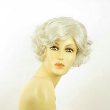 short wig for women curly white ref: MATHILDE 60 PERUK
