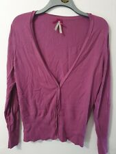 Next Long Sleeve Purple Buttoned Cardigan Size 16