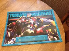 NFL Poster 1992 Frito Lay Promo San Francisco 49ers LA Rams Trench Warfare