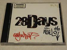 28 Days & Apollo 440 Say What? CD EP