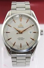 MINT OMEGA SEAMASTER AQUA TERRA 2502.34 AUTOMATIC CO-AXIAL ROSE GOLD MENS WATCH