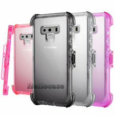 For Samsung Galaxy Note 10 Plus/Note 9 Case Shockproof Hybrid Clip Holster Cover
