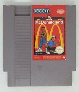 McDonaldland NES PAL Cart Only TESTED and working