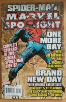 MARVEL SPOTLIGHT: SPIDER-MAN #1 One More Day (2007 MARVEL Comics) ~ VF/NM Book