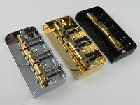 WILKINSON WTBS SHORT BRIDGE + COMPENSATED BRASS SADDLES in Chrome, Black or Gold