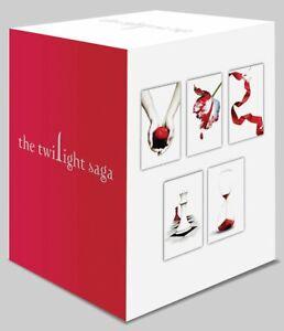 Twilight Saga 5 Book Set (White Cover), Meyer, Stephenie, New condition, Book