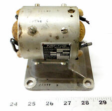 Vintage ADEL Driven Electric Motor Piece for Fluid Pump USAF Aviation